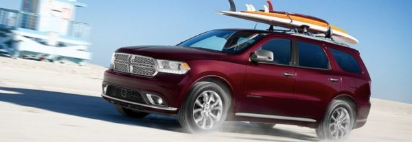2019 Dodge Durango red SUV